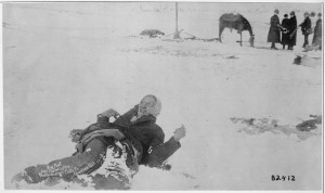 big foot à wounded knee